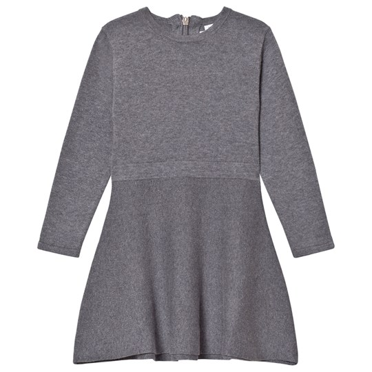 Hust&Claire Claire Mini Dress Grey Grey Blend