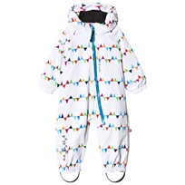 Isbjörn Of Sweden TODDLER Padded Coverall White