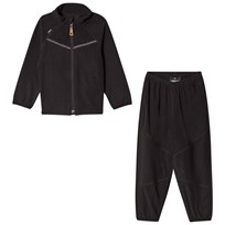 Lindberg Umeå Fleece Set Black Black