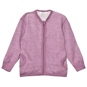 Image of Joha Zipped Sweater in Purple 120 cm (6-7 år) (3125331205)