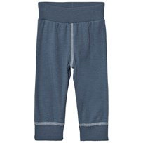 Joha Soft Wool Sweatpants Blue Blue