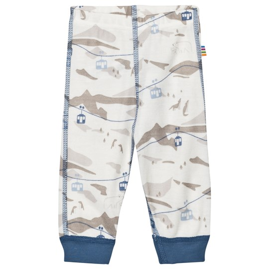 Joha Cable Car Leggings Blue Blue