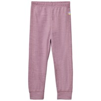 Joha Purple Melange Sweatpants Purple