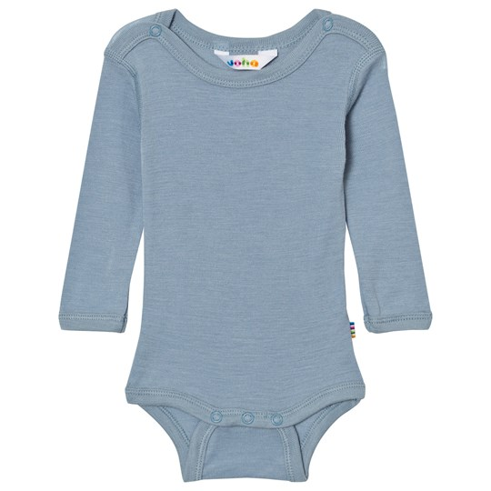 Joha Long Sleeve Baby Body Silk Blue Blue