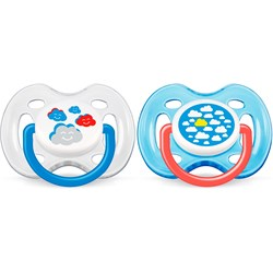 Philips Avent Napp, Mode, 0-6 mån, 2-pack, Clouds