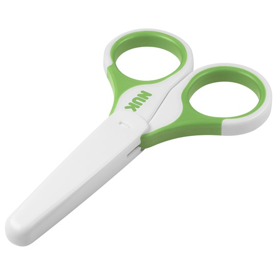 NUK Baby Nail Scissors Green Green