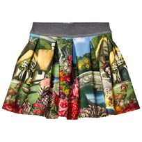 Monnalisa Snow White Print Neoprene Skirt 84
