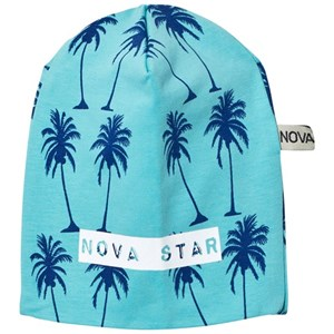 Image of Nova Star Beanie Mint Palms NB (0-3m) (2743766891)