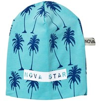 Nova Star Beanie Mint Palms Mint