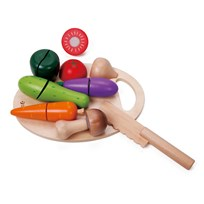 Classic World Playfood, Cutting board with vegetables Multi