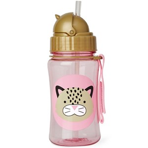Image of Skip Hop Zoo Straw Bottle Leopard (3125335967)
