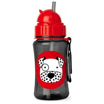 Skip Hop Zoo Straw Bottle Dalmation White