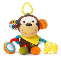 Skip Hop Bandana Buddies Activity Animal Monkey Multi