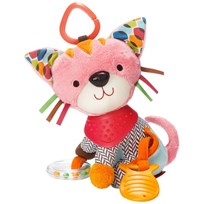 Skip Hop Bandana Buddies Activity Animal Kitten пестрый