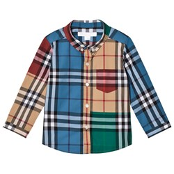 Burberry Fred Colorblock Check Shirt