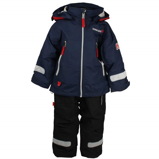 Didriksons Yuki Kids Set Navy Blue