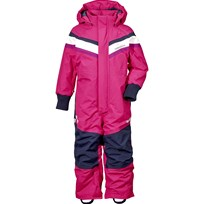 Didriksons Romme Kids Coverall  Fuchsia Fuchsia