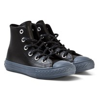 Converse Chuck Taylor All Star Läder & Thermal High Top Svart BLACK/BLACK/SHARKSKIN
