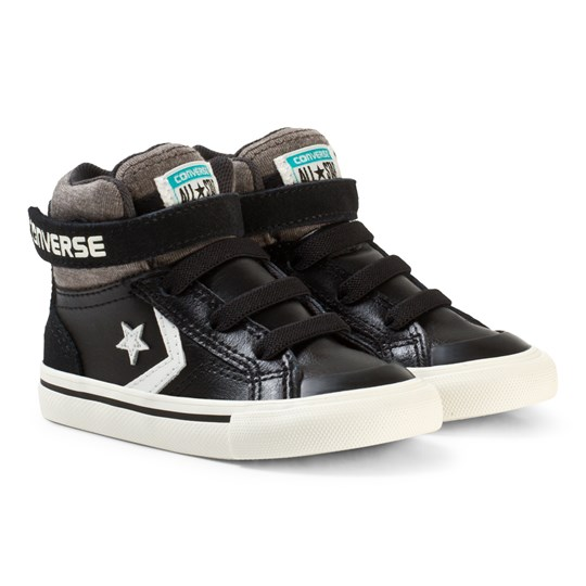 Converse Chuck Taylor All Star Street Leather and Fleece Mid Black BLACK/STORM WIND/EGRET