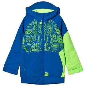 Image of Oneill Blue and Yellow Interior Ski Jacket 152 (12 years) (2805092897)