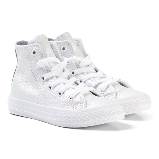 b446a2c035d16e Converse - Chuck Taylor All Star Iridescent Leather High Top White ...