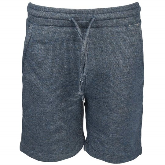 Popupshop Basket Shorts Denim Melange Blue