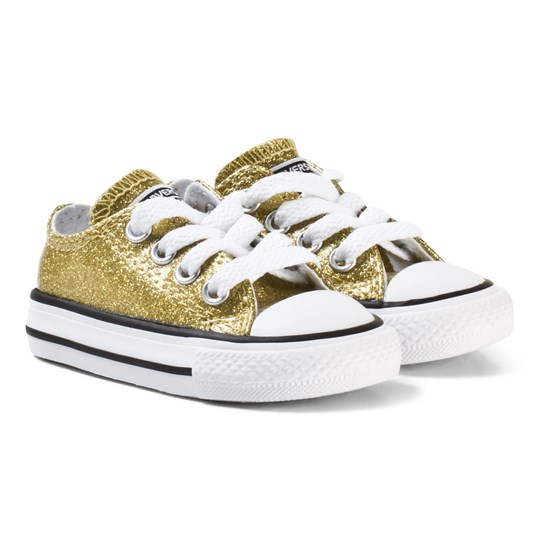 Converse Chuck Taylor All Star Big Glitter Low Top Gold GOLD/WHITE/BLACK