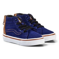 Vans SK8-Hi Zip MTE Toddler Shoes Blue Depths