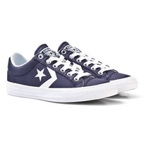 Converse Star Player EV OX Sneakers Marinblå Navy/White