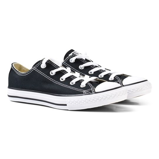 ba041d154757 Converse - Black Chuck Taylor All Star OX Trainers - Babyshop.dk