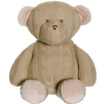 Teddykompaniet Knitted Bear бежевый