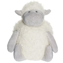 Teddykompaniet Fluffies Lamb Grey