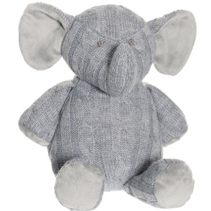 Image of Teddykompaniet Knitted Elephant (2805094591)