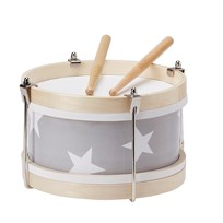Kids Concept Drum Grey Black
