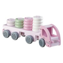 Kids Concept Truck Sorting Pink Pink