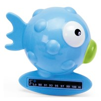 Chicco Fish Bath Thermometer Blue Blue