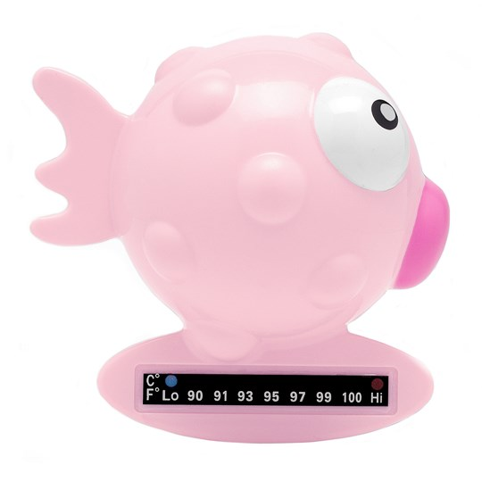Chicco Fish Bath Thermometer Pink Pink