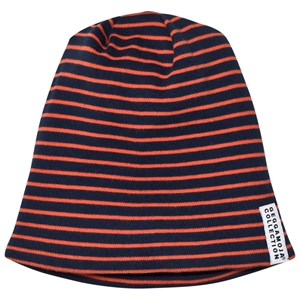 Geggamoja Topline Fleece Marine/Orange S (2-4 år)