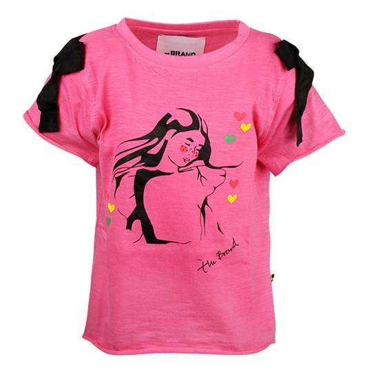 The BRAND Bow Tee Pink Pink