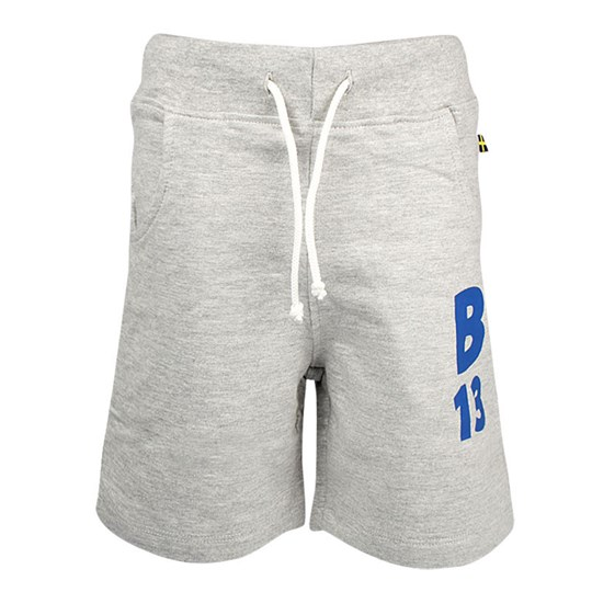 The BRAND Jonta Shorts Grey Melange Grey