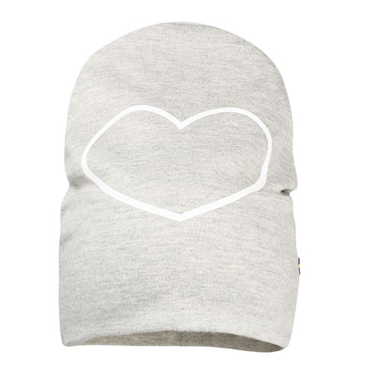 The BRAND Hat Grey Melange Heart Sort