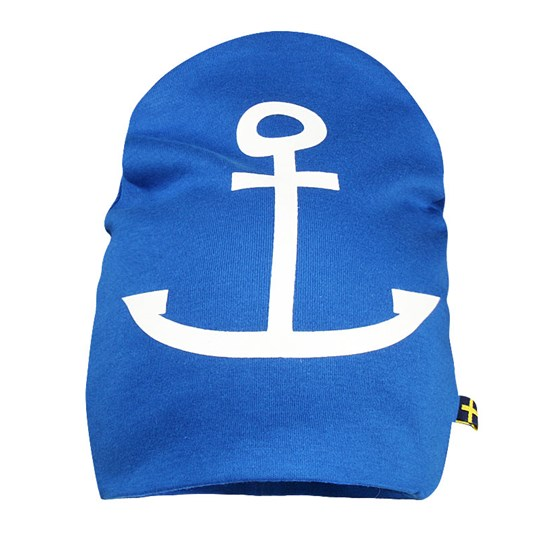 The BRAND Hat Blue Anchor Blue