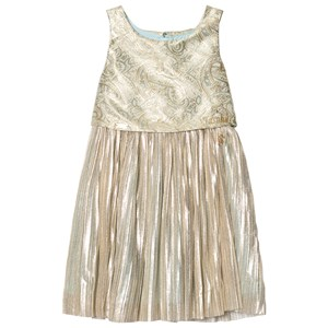 Image of Disney Boutique Jasmine Jacquard Pleated Party Dress 5-6 years (988622)