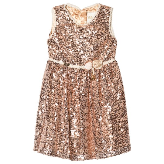 Disney Boutique Belle Sequin Party Dress BELLE