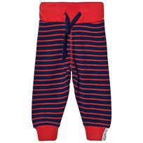 Geggamoja Wool trouser Marine/orange Marine/orange