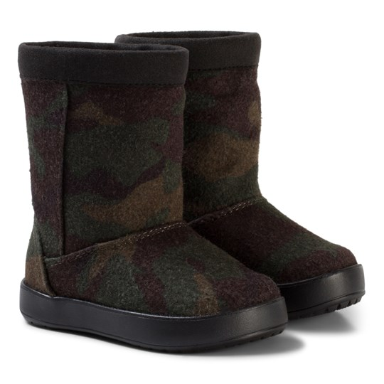 Crocs LodgePoint Novelty Boot K Camo Multi