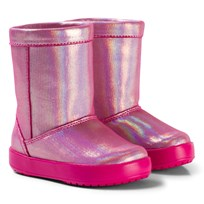 Crocs LodgePoint Novelty Boot K Candy Pink Pink