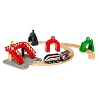 BRIO Smart Engine Set with Action Tunnels Black