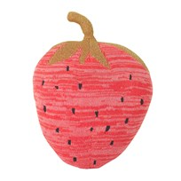 ferm LIVING Fruiticana Strawberry Toy Red, black and gold