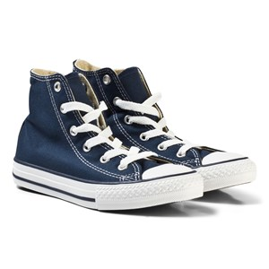 Image of Converse Navy Chuck Taylor All Star High Top Trainers 31.5 (UK 13) (2808737401)